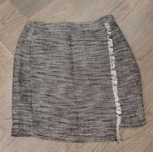 LOFT Petite Asymmetrical Skirt